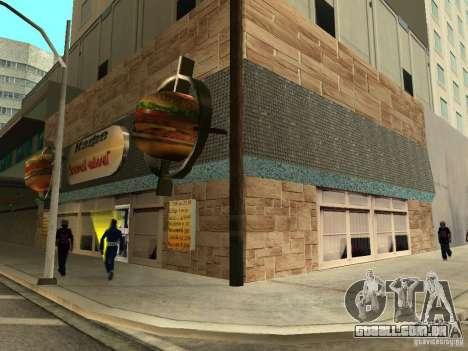 Nova Burgershot: ČajničeG de ouro para GTA San Andreas segunda tela