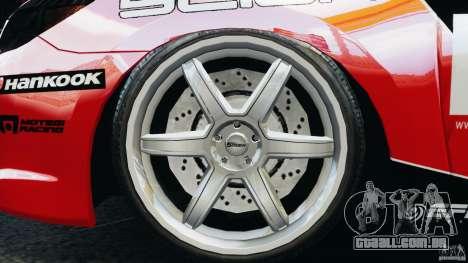 Scion TC Fredric Aasbo Team NFS para GTA 4 vista de volta