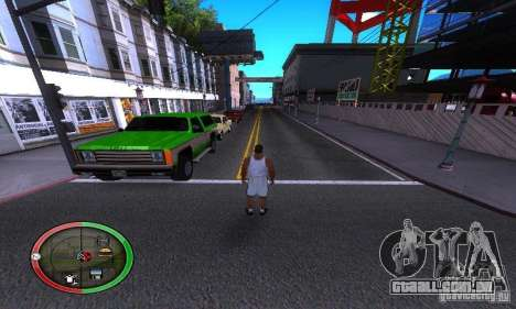 NEW STREET SF MOD para GTA San Andreas terceira tela