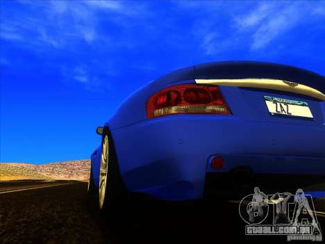 Aston Martin V12 Vanquish V1.0 para GTA San Andreas vista direita