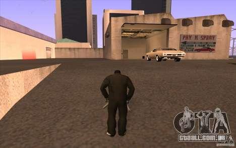Todas as máquinas são pintadas + pessoas entrand para GTA San Andreas terceira tela