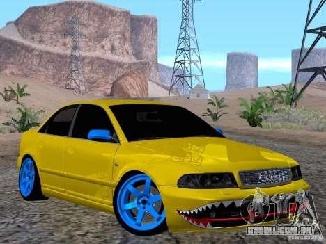 Audi S4 DatShark 2000 para GTA San Andreas vista interior