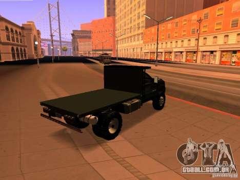 Chevrolet Silverado HD 3500 2012 para GTA San Andreas esquerda vista