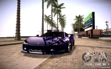 SA Illusion-S V1.0 SAMP Edition para GTA San Andreas segunda tela