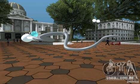 Esperma para GTA San Andreas traseira esquerda vista