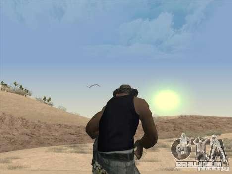 Nuvens bonitas e muito mais para GTA San Andreas terceira tela