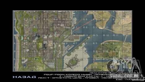 Map Mod v1.2 para GTA San Andreas segunda tela