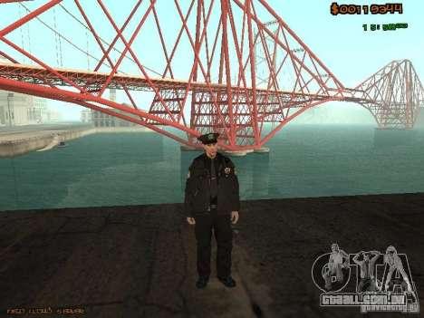 Sheriff Departament Skins Pack para GTA San Andreas segunda tela