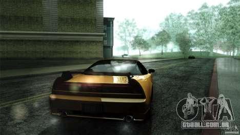 Honda NSX-R 2005 para GTA San Andreas vista traseira