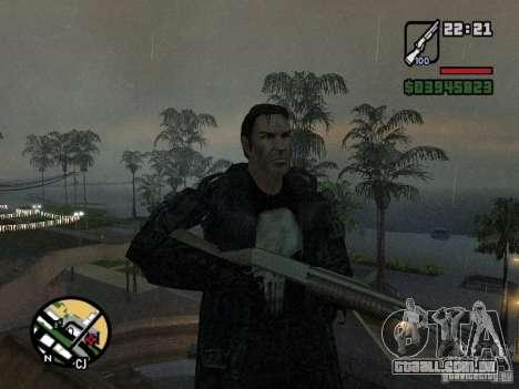 O justiceiro para GTA San Andreas
