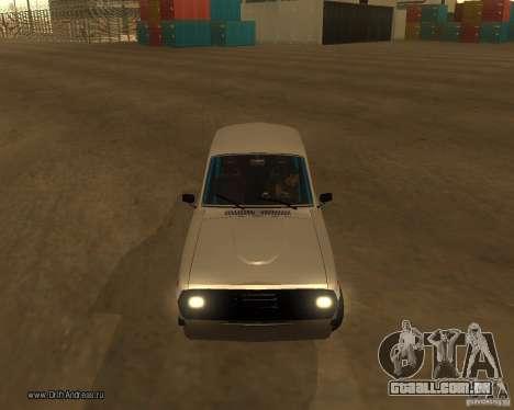 Gaz Volga 2410 Drift Edition para GTA San Andreas vista superior