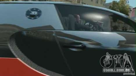 Bugatti Veyron 16.4 Super Sport para GTA 4 traseira esquerda vista