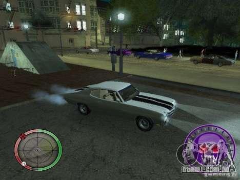 Skul Speedometer para GTA San Andreas por diante tela