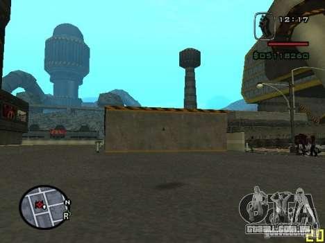 CJ do homem invisível para GTA San Andreas