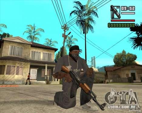 Millenias Weapon Pack para GTA San Andreas quinto tela