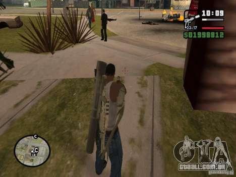 Nova vista para GTA San Andreas