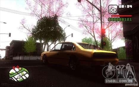 Spring Season para GTA San Andreas sexta tela