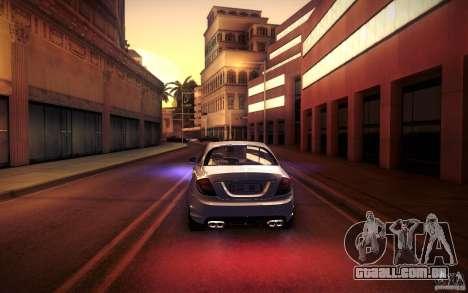 Mercedes Benz CL65 AMG para o motor de GTA San Andreas