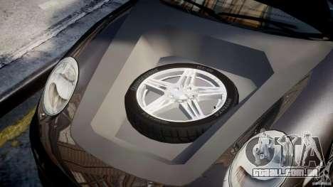 Porsche 911 Turbo para GTA 4 vista de volta