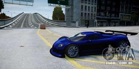 Gumpert Apollo Sport 2011 para GTA 4 vista de volta