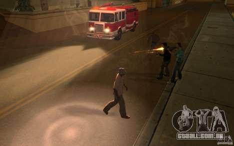 Brigada versão 2.0 para GTA San Andreas por diante tela