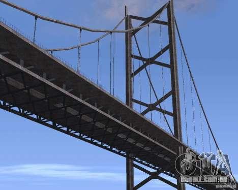 Novas texturas de três pontes em SF para GTA San Andreas nono tela