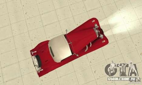 Mercedes-Benz 500K para GTA San Andreas vista direita