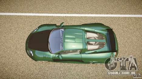 Porsche Carrera GT para GTA 4 vista direita