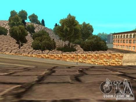 Stone Mountain para GTA San Andreas nono tela