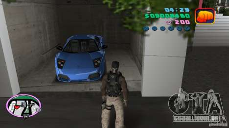 50 Cent Player para GTA Vice City segunda tela