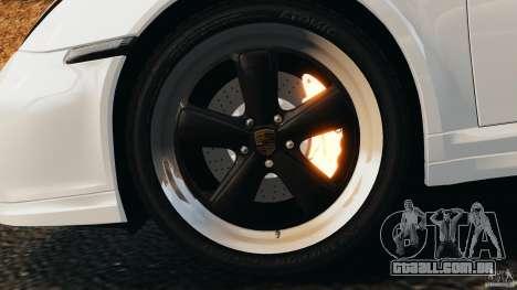 Porsche 911 Sport Classic 2010 para GTA 4 vista superior