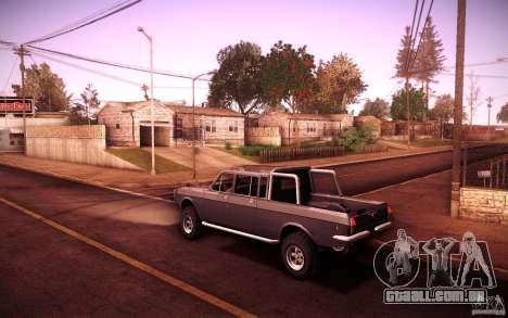 GAZ 2402 4 x 4 PickUp para GTA San Andreas vista direita