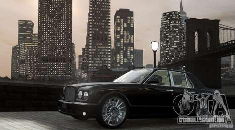 Bentley Arnage T v 2.0 para GTA 4 esquerda vista