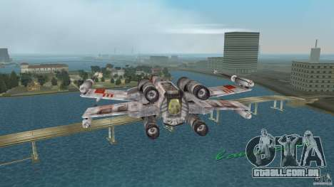 X-Wing Skimmer para GTA Vice City vista traseira