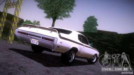 Buick GSX 1970 para GTA San Andreas vista direita