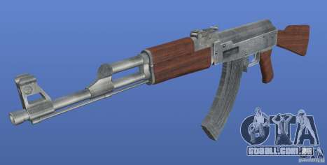 AK47 Retex 1.1 Chrome para GTA 4 segundo screenshot