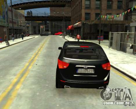 Hyundai IX55 para GTA 4 esquerda vista