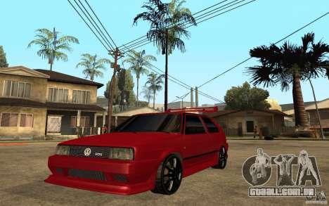 Volkswagen Golf 2 GTI Tuned para GTA San Andreas
