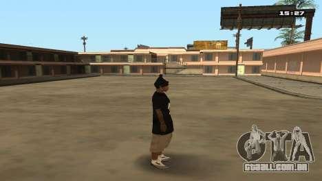 Skin Pack Ballas para GTA San Andreas décima primeira imagem de tela