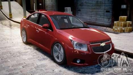Chevrolet Cruze para GTA 4 esquerda vista