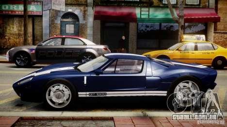 Ford Hennessey GT1000 2006 v2.0 EPM para GTA 4 esquerda vista