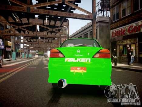 Nissan Silvia S15 Boso Drift Formula D M-Design para GTA 4 traseira esquerda vista