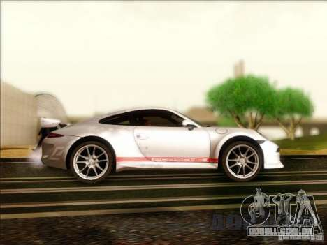 Porsche 911 Carrera S (991) Snowflake 2.0 para GTA San Andreas vista traseira