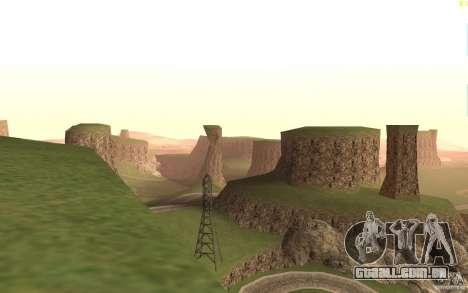 New desert para GTA San Andreas terceira tela