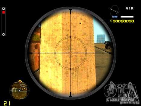New AWP para GTA San Andreas terceira tela