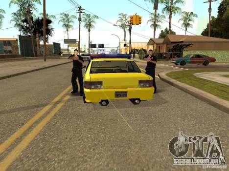 Sultan USSR Police para GTA San Andreas vista direita
