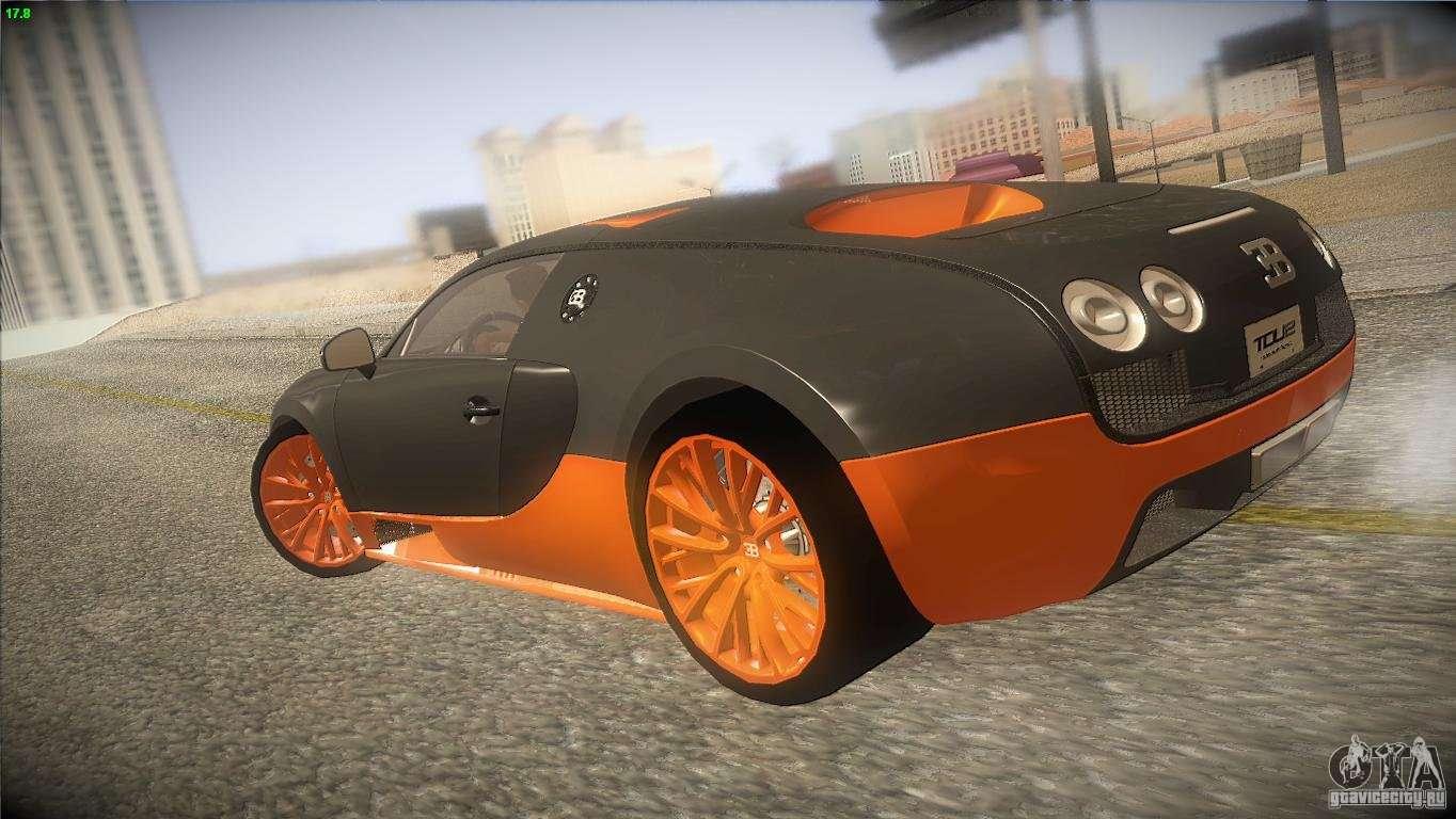 bugatti veyron super sport para gta san andreas. Black Bedroom Furniture Sets. Home Design Ideas