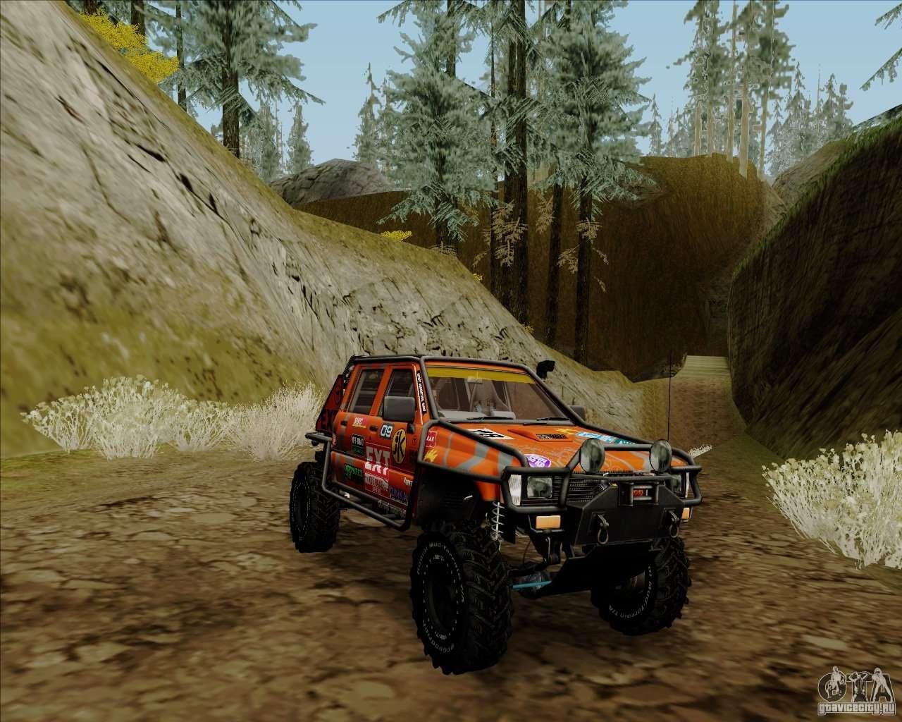 Nissan Navara Off Road Para Gta San Andreas