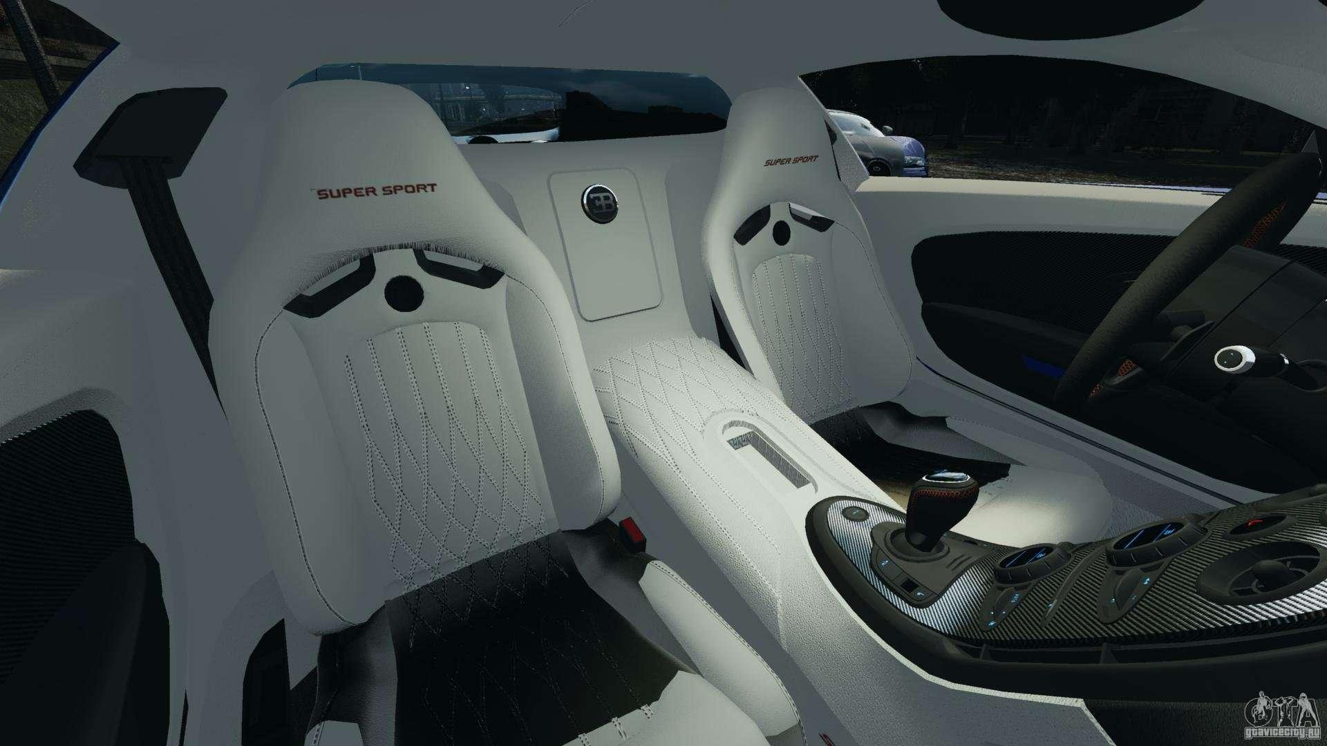 bugatti veyron 16 4 super sport 2011 v1 0 epm para gta 4. Black Bedroom Furniture Sets. Home Design Ideas