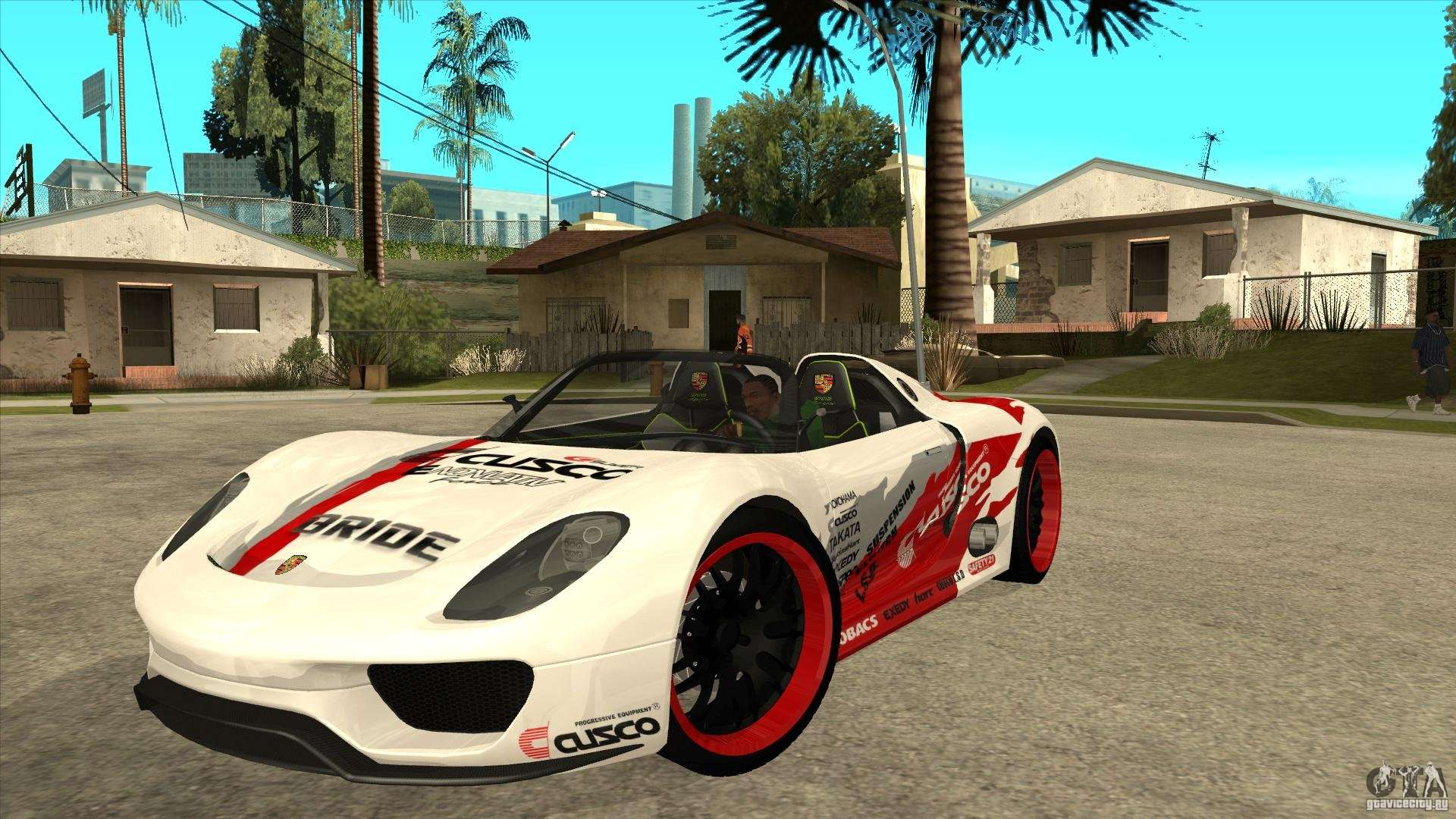 porsche 918 spyder consept para gta san andreas. Black Bedroom Furniture Sets. Home Design Ideas